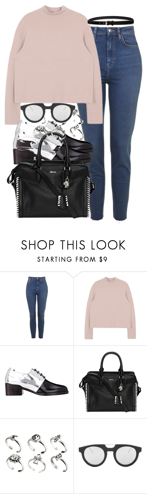 """Untitled #1273"" by she-is-wearing-this ❤ liked on Polyvore featuring 3.1 Phillip Lim, Alexander McQueen, ASOS, Spektre and Étoile Isabel Marant"