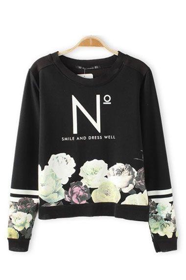 Gorgeous! Vintage Rose Printing Loose T-shirt #vintage #rose #Tshirt #Fashion