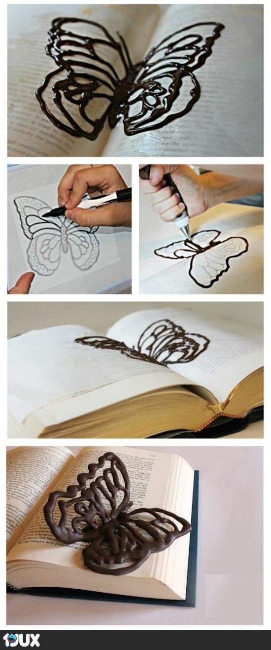 Schoko Schmetterlinge... sehr, sehr cool! (b)