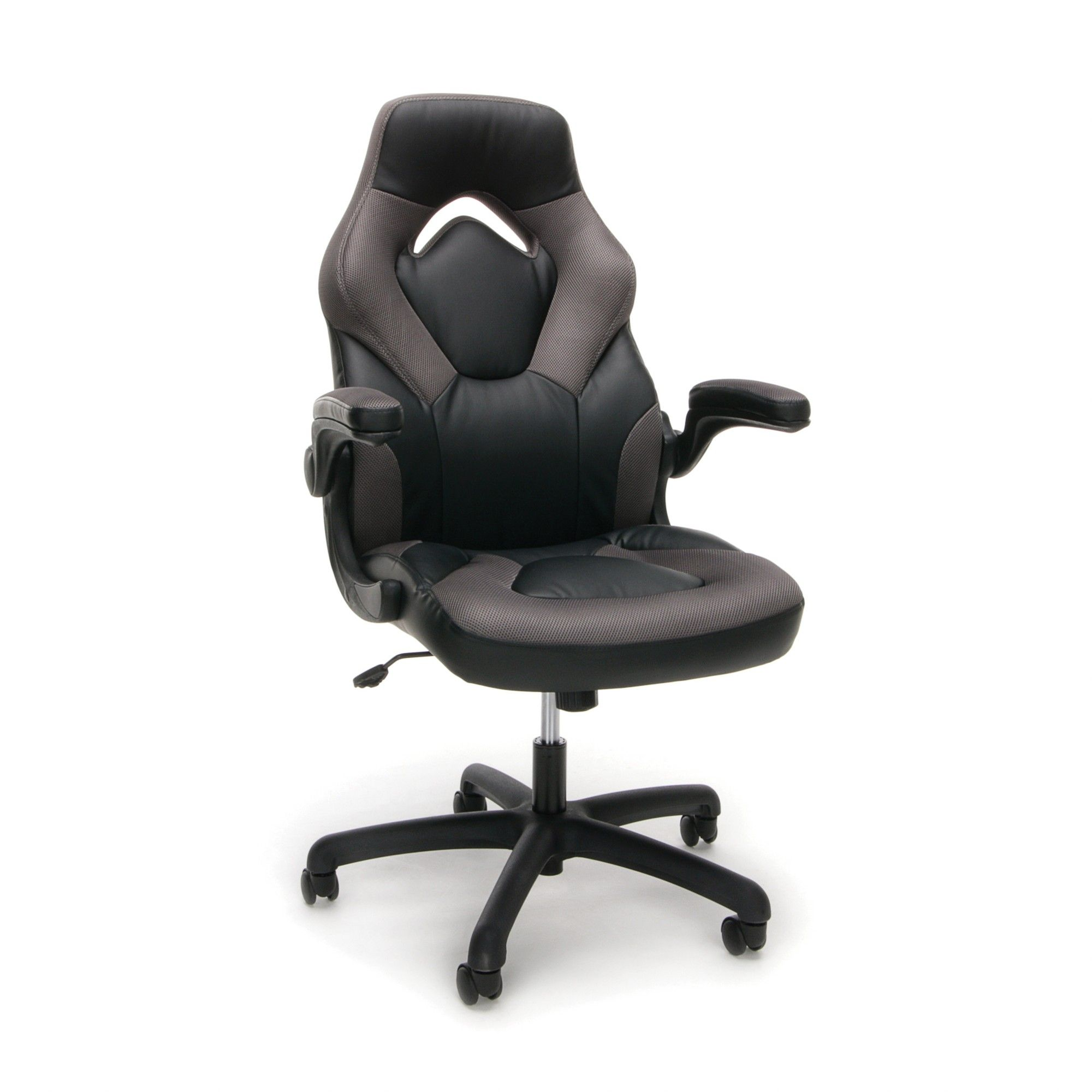 Adjustable Leather/Mesh Gaming/Office Chair with Wheels