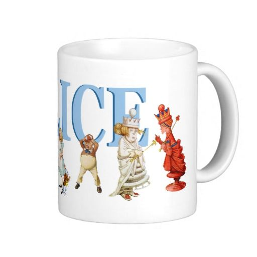 Alice Through the Looking Glass and Friends Mugs