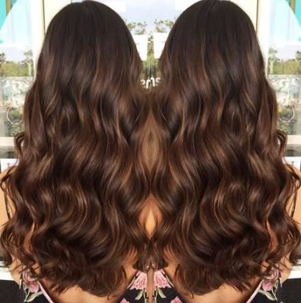 Super Haarbraun unterstreicht Karamellfarbe Ideen