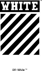 Resultado De Imagen Para Off White Logo Kertas Dinding Hujan Dinding