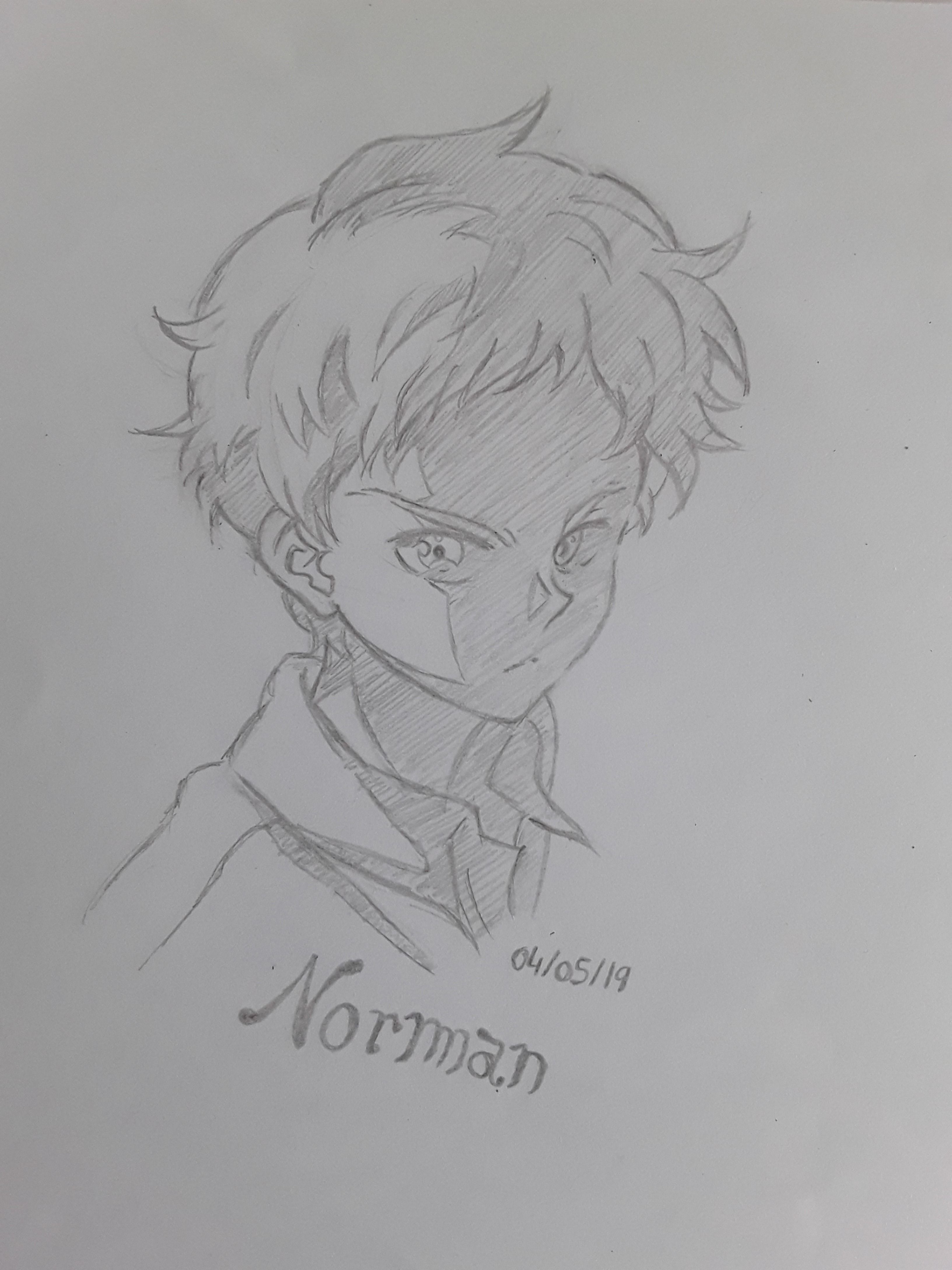 Norman To the anime The Promised Neverland! norman