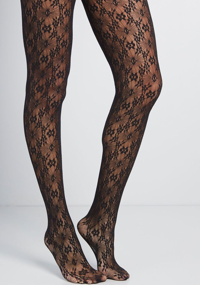 9896c6f956a Up the Opulence Floral Tights in XL in 2019