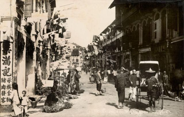 Chinatown - 1920s | Old Singapore | Singapore, History of ...
