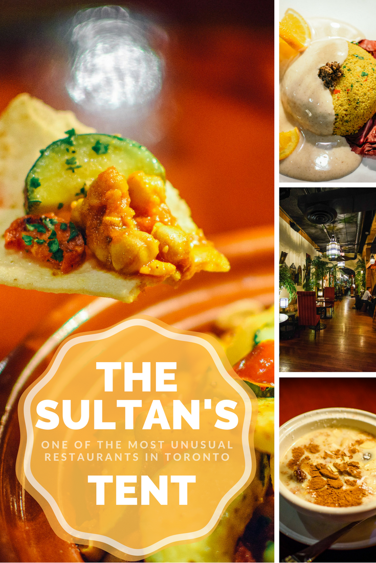 Most Unusual Restaurants in Toronto Sultanu0027s Tent via @jamiesarner & Most Unusual Restaurants in Toronto: Sultanu0027s Tent via ...