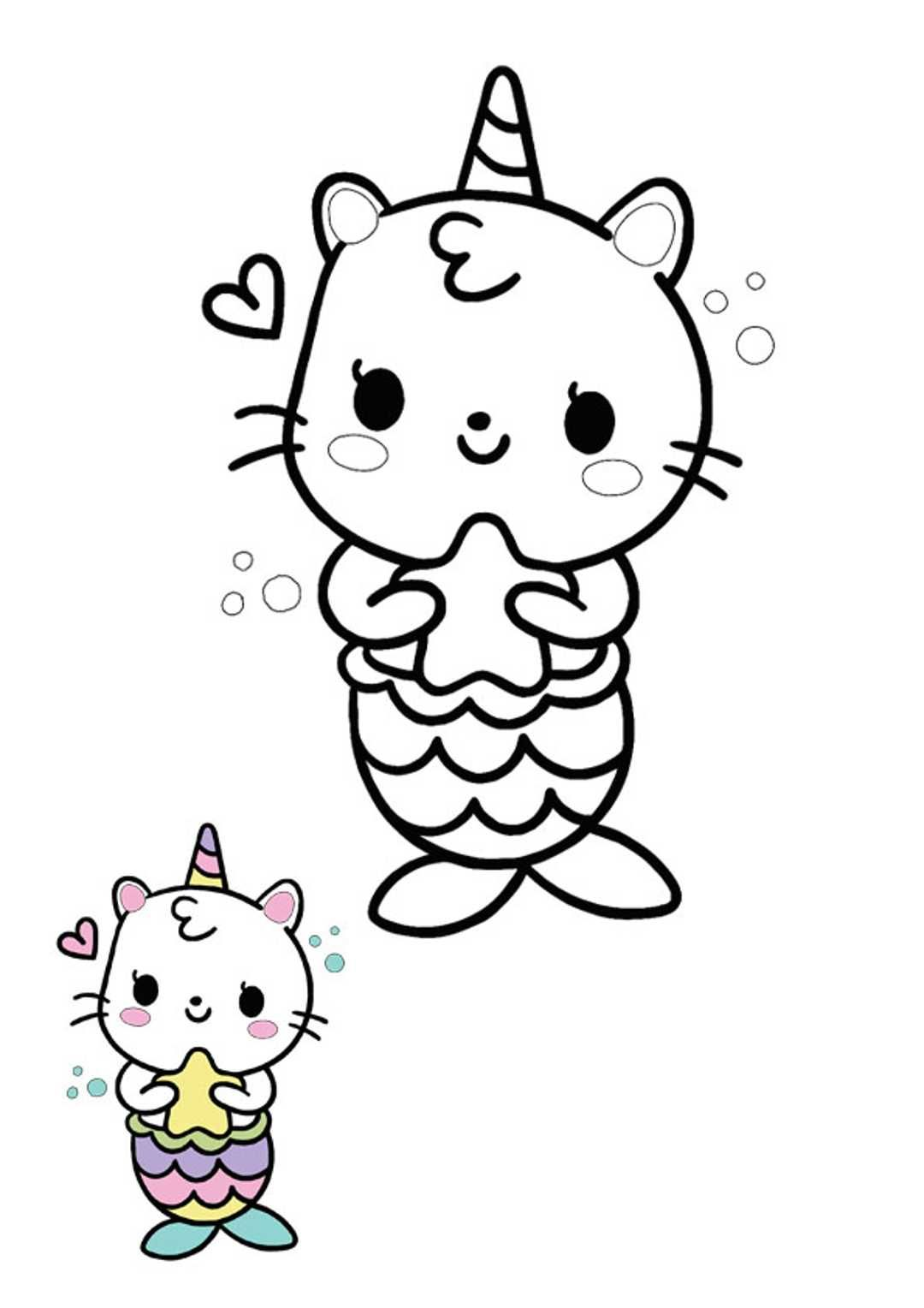 Unicorn Mermaid Coloring Pages Cat Coloring Book Mermaid Coloring Pages Unicorn Coloring Pages