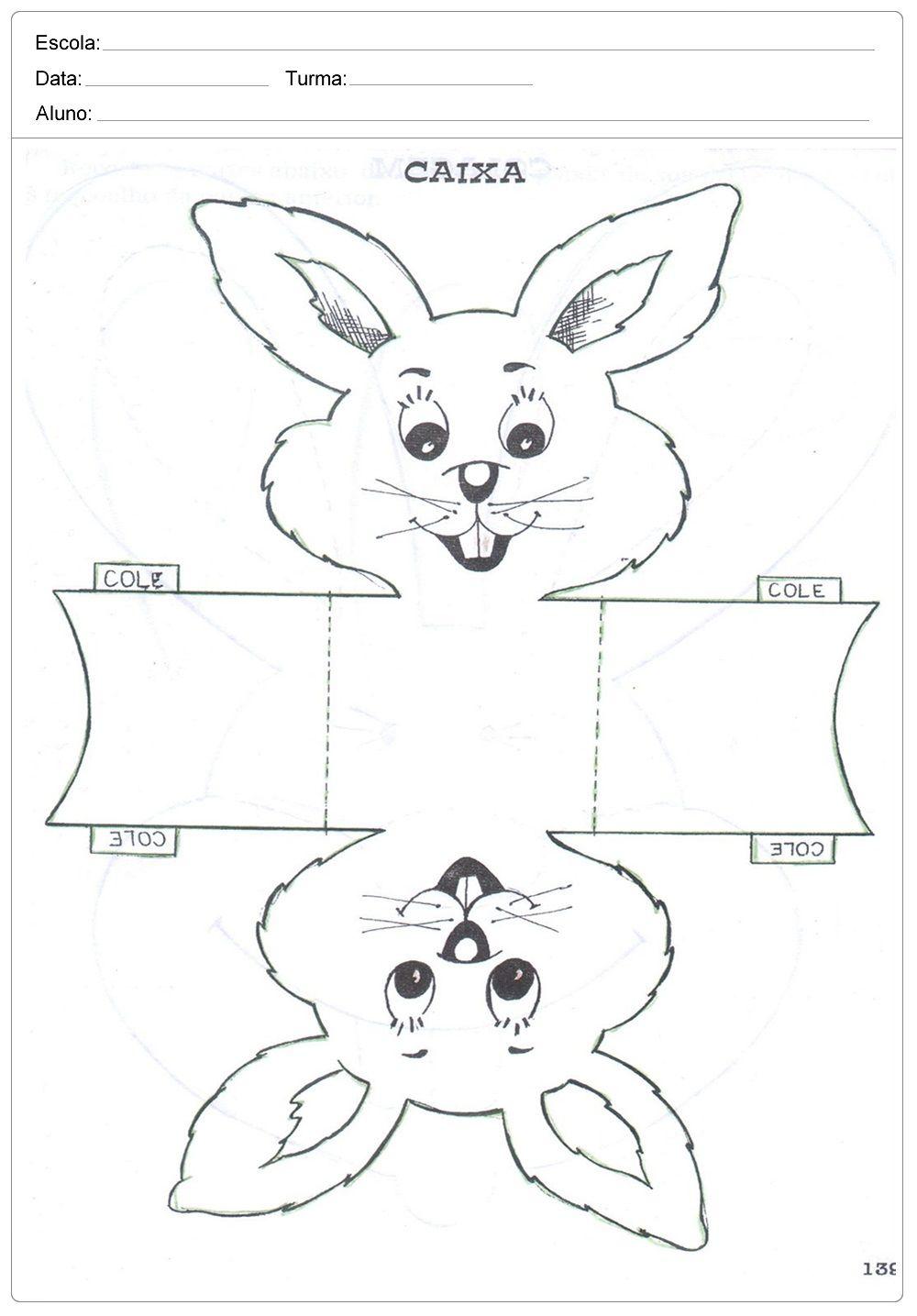 Atividades De Pascoa Para Imprimir Ideias Lembrancinhas Moldes