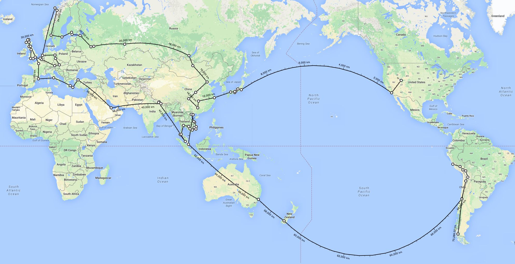 With a one way ticket in hand we left home in the united states and one way ticket in hand we left home in the united states and flew to tokyo and beyond in may 2014 our year long global journey took us to 26 countries gumiabroncs Choice Image