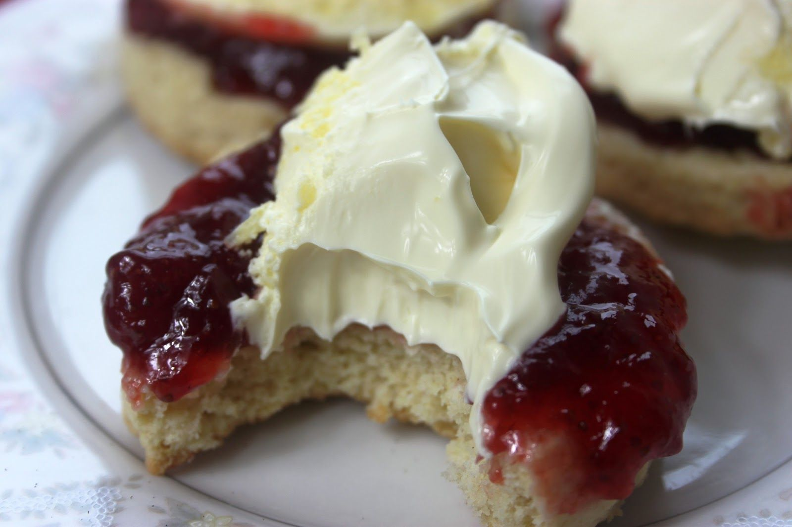 Double Clotted Cream Devon England Devonshire Tea Comes From The County Of Devon England The Devon Perfect Scones Recipe Cream Tea Cream Recipes