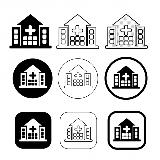 Simple Hospital Icon Sign Design Hospital Icons Simple Icons Sign Icons Png And Vector With Transparent Background For Free Download Hospital Icon Sign Design Symbol Design