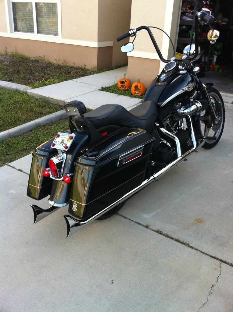 Harley Davidson Saddlebags: Click The Image To Open In Full Size.