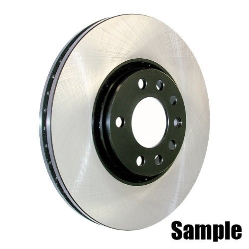 Centric Parts 120.65100 Premium Brake Rotor with E-Coating