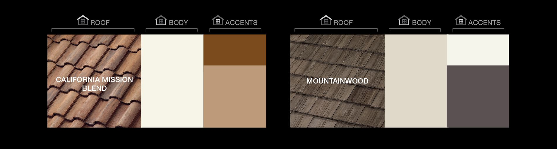 How To Enhance The Color Harmony Of Your Home Roofing Boral Usa Color Harmony Roofing Enhance Curb Appeal