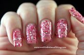 Photo of Candy Color Glitter Sparkle YogurtPolish by BornPrettyNails  Nail Art Gallery n