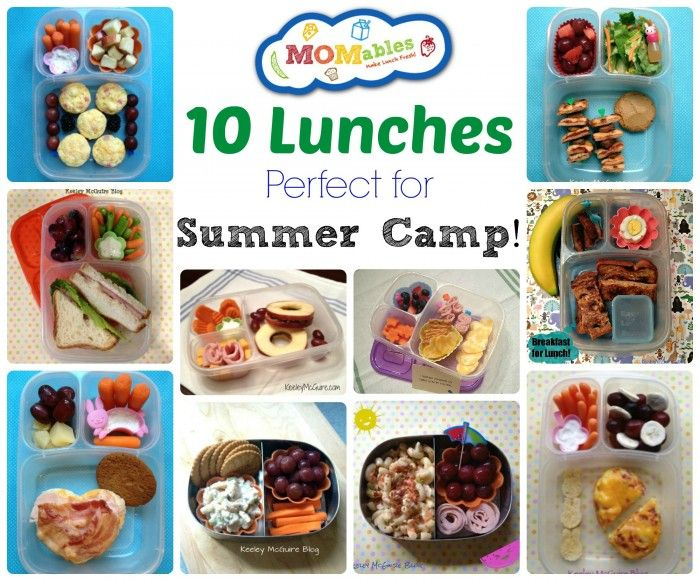 10 Summer Camp Lunch Ideas And Recipes Food Kids Meals Summer Lunch