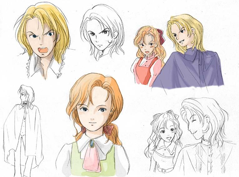 VERY EARLY How's Moving Castle Concept Art