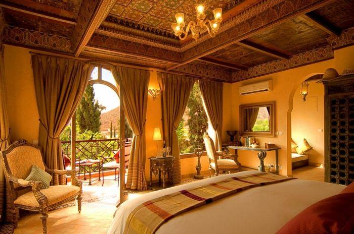 orient möbel dekorationen für ein exotisches ambiente in der ...