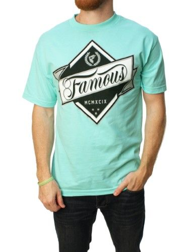 Famous Stars And Straps Men's In The Rough Graphic T-Shirt-Medium, Size: Medium, Green