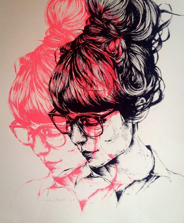 Block Colour Fashion Illustration