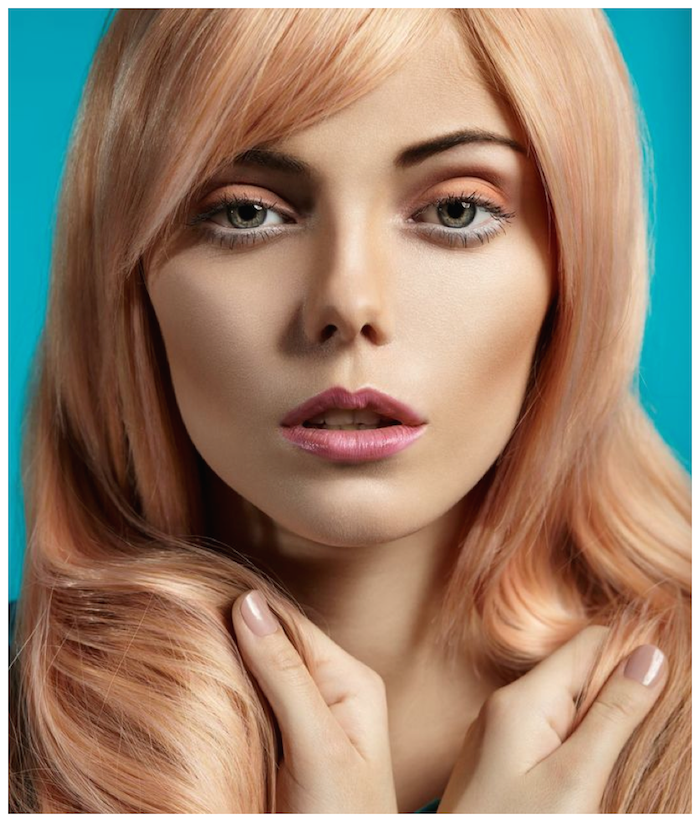Hair Color Inspiration and Formulation: Coral Blush My school ...