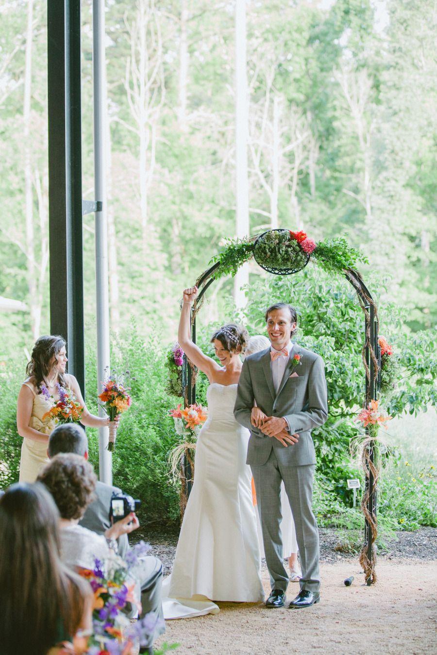 Whimsical Botanical Garden Wedding Botanical gardens