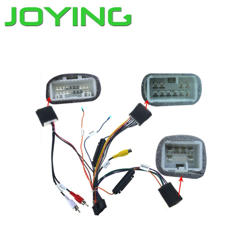 Joying Wiring Harness For Toyota Highlander only for Joying
