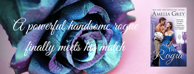 ✱✱Book Review✱✱ Gone With the Rogue by Amelia Grey