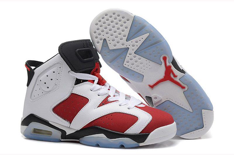 on sale 8681a 9949d Air Jordan 6 Pas Cher Soldes, Air Jordan 6 Homme Rouge, Noir Chaussures