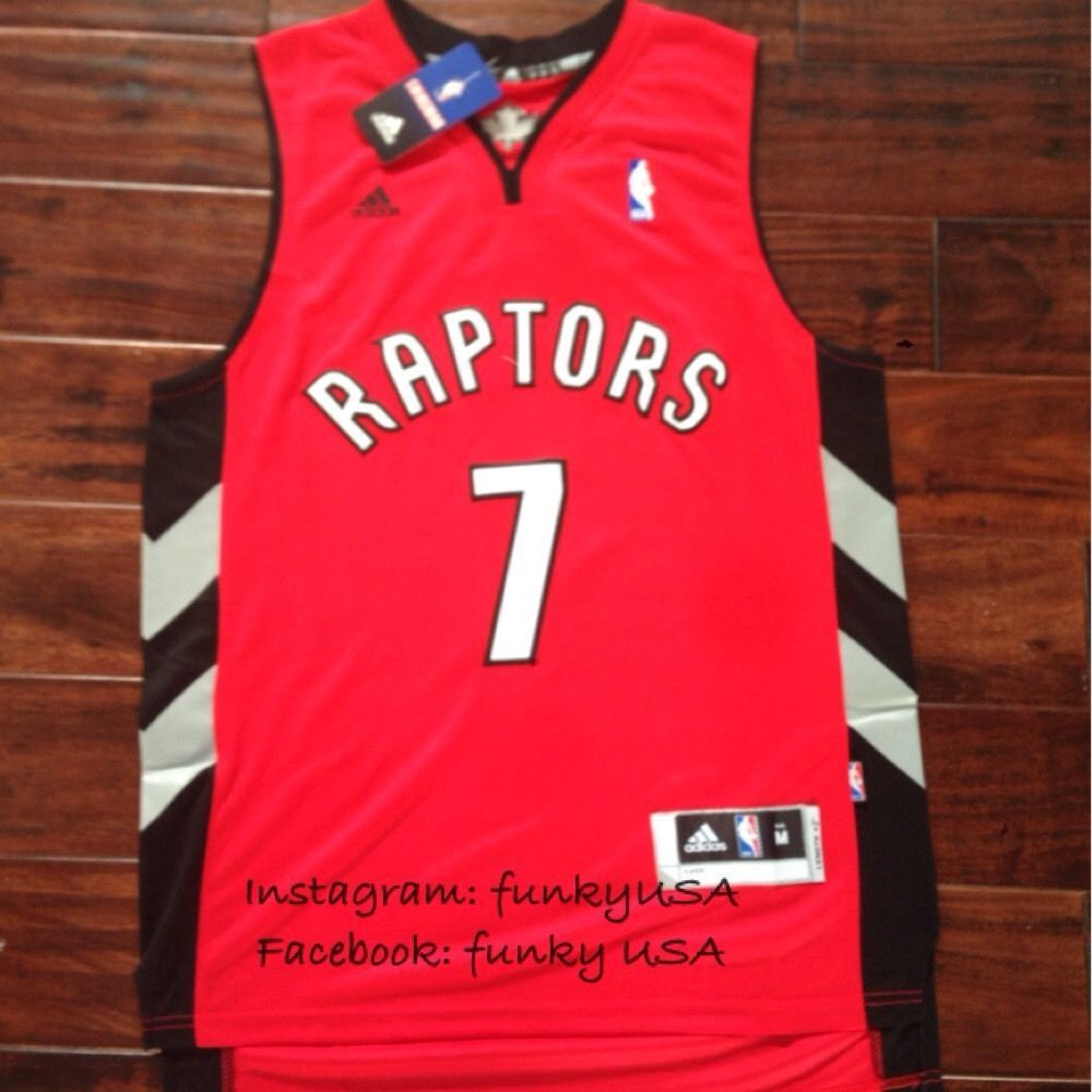 a4ef4ee9e064 ... swingman road  7 kyle lowry toronto raptors basketball jersey size m  shirt red super hot