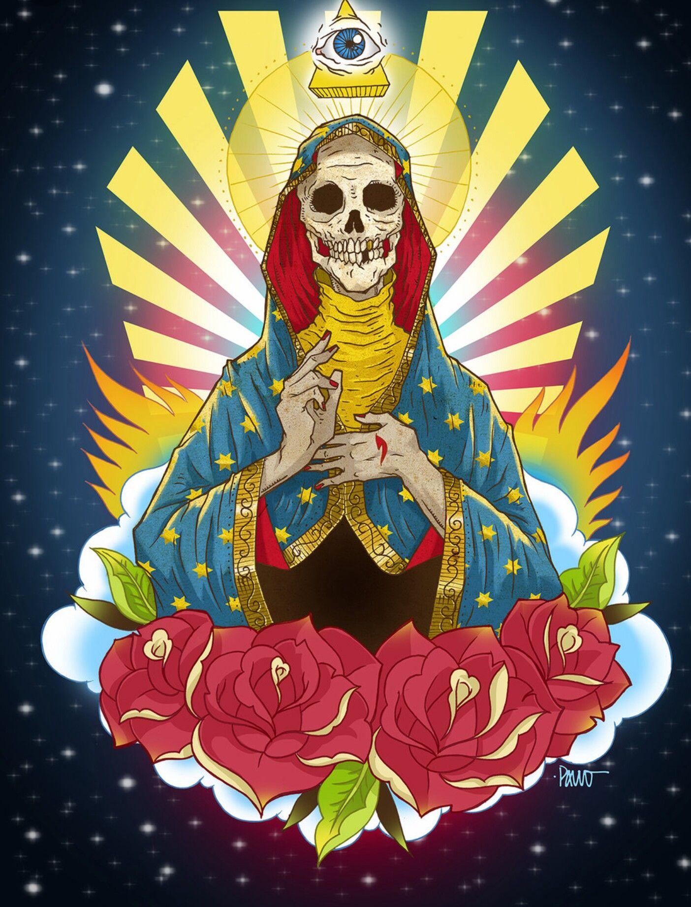 мексиканские святые картинки