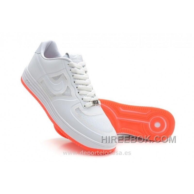 air force 1 blancas y naranjas
