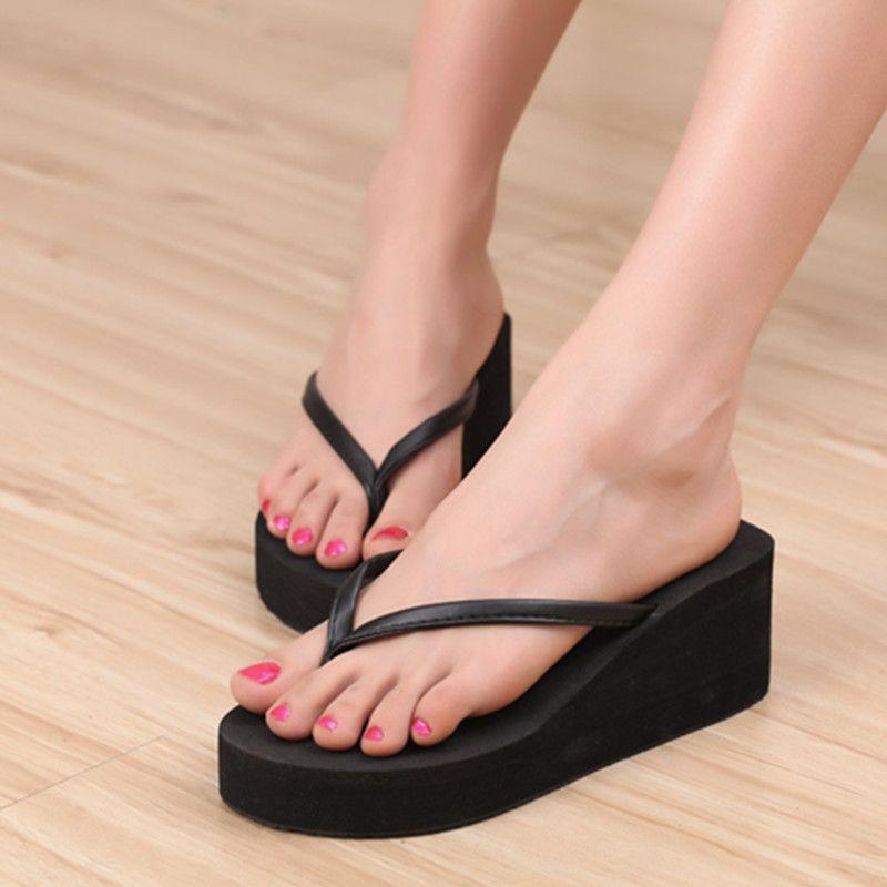 77247b8c Encontrar Más Sandalias de las mujeres Información acerca de Moda 2015  plataformas de verano sandalias zapatos