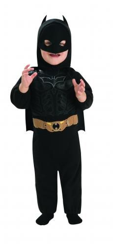 Batman Dark Knight Rises Romper Baby Costume | Movie Costumes | Baby Costumes