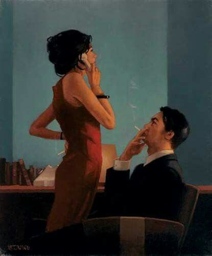 Red Dress Seduction Jack Vettriano Jack Jack Vetriano