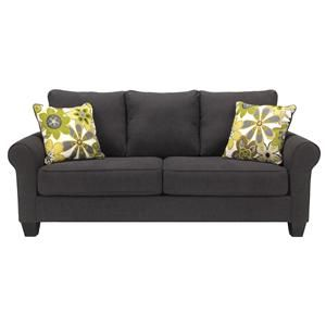 Benchcraft Nolana Charcoal Sofa Item Number 1650138