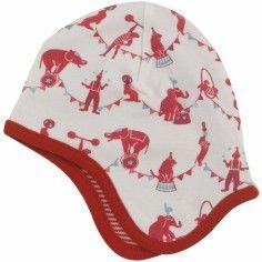 Bonnet de naissance réversible Cirque rouge (0-5 mois) - Pigeon ... 206ae08be56