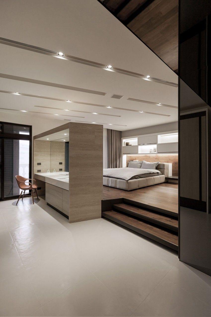 turkey best modern design bedroom | Lo Residence by LGCA DESIGN | Modern minimalist bedroom ...