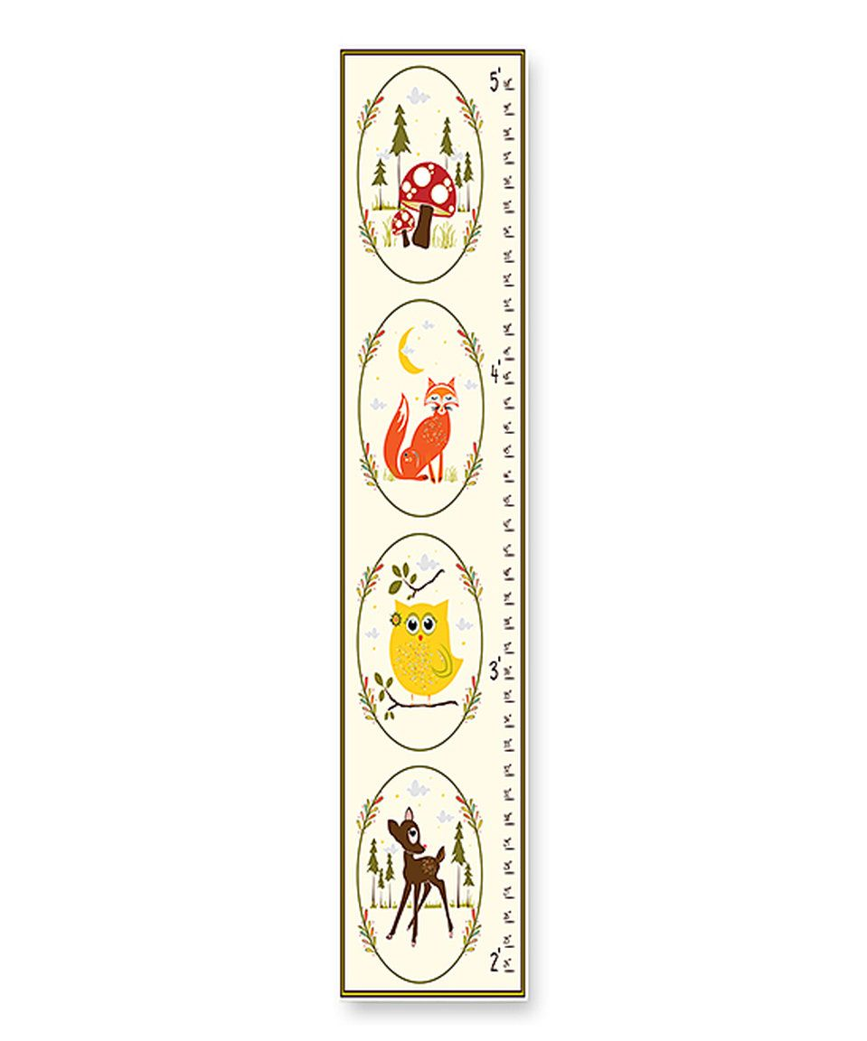 Take a look at this woodland animal growth chart today new baby take a look at this woodland animal growth chart today nvjuhfo Image collections