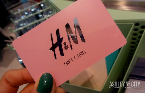 Gift cards : H&M, Suzy Shier, La Senza, Yeh!, The Body Shop, Bath ...