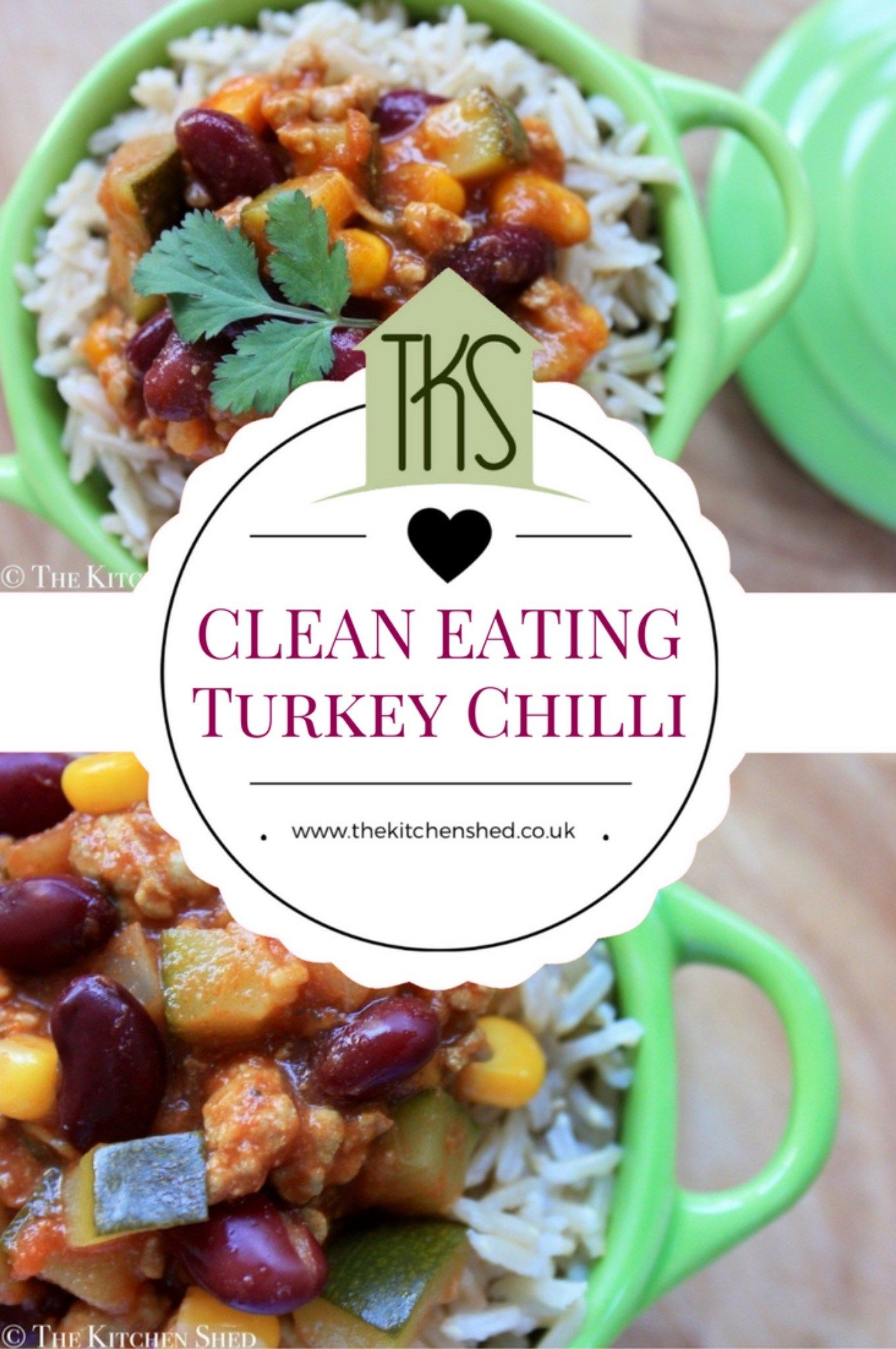 Clean Eating Turkey Chilli | Recipe | Turkey chilli, Clean ...