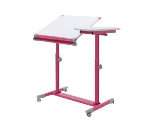 PINK Split Top Drafting Table Art Craft Dorm