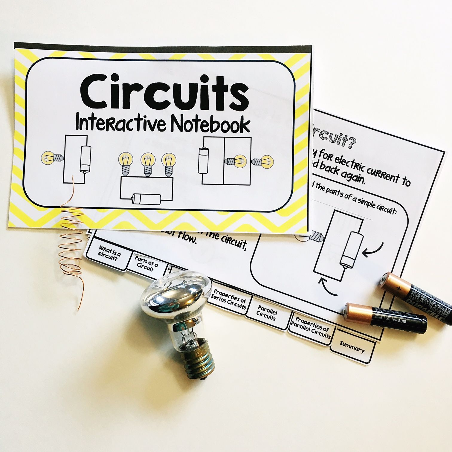 Circuits Interactive Notebook