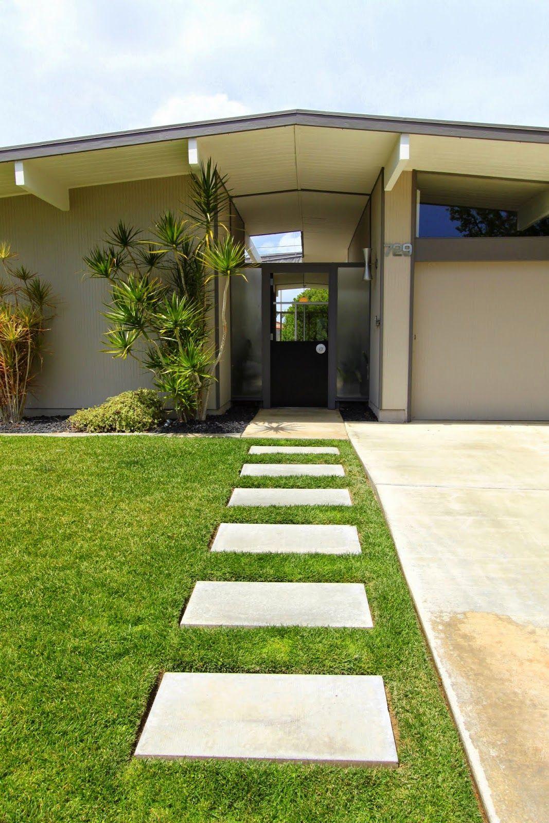mid century modern remodel home tour psst it s an eichler best landscaping ideas on pinterest fence front door doors