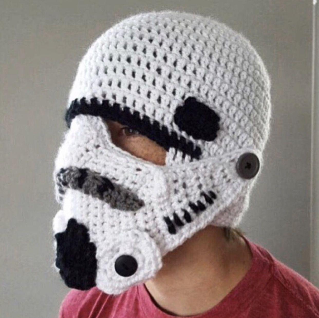 Stormtrooper winter hat. LOVE! | Fan Girl Pins | Pinterest ...