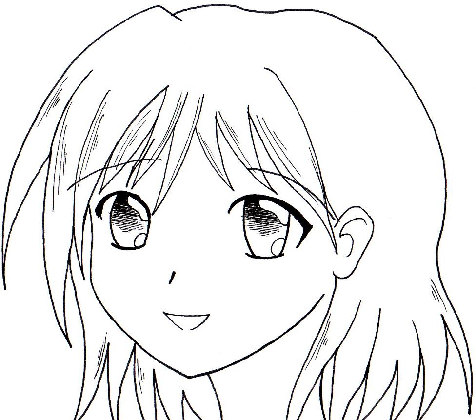 Dessin Facile Fille Manga