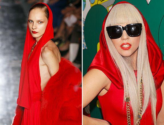 Lady gaga in Alexandre Vauthier       #modewalk #runway #ladygaga #AlexandreVauthier #runway #highfashion #red