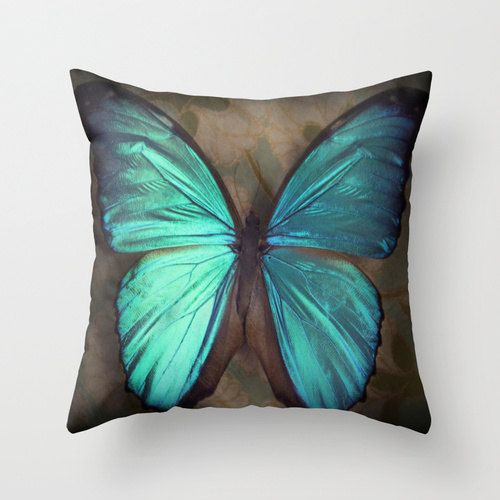 Butterfly Throw Pillow Cover