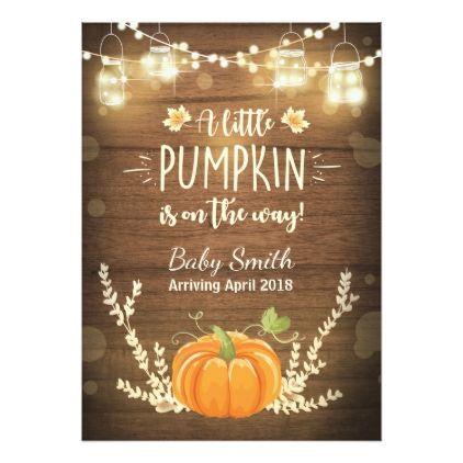 Thanksgiving Pregnancy Announcement Little Pumpkin